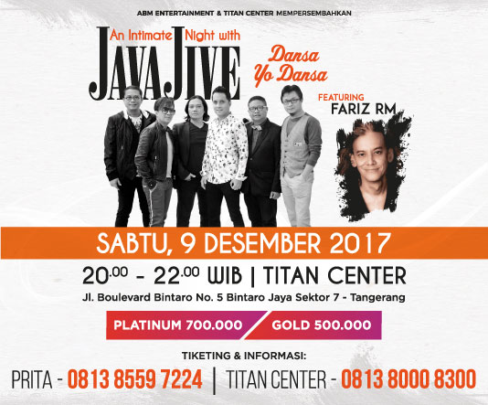 An Intimate Night With Java Jive