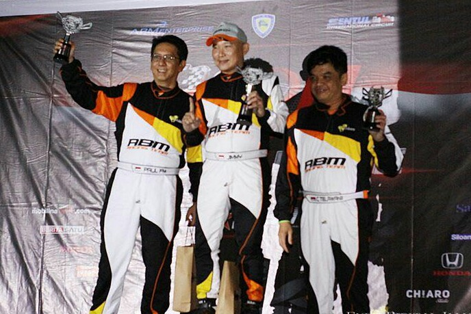 ABM Motorsport Boyong 24 Trofi Dari Night Race ISSOM 2018